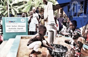 Le projet de puit d'eau